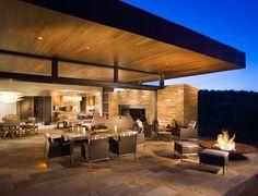 Exclusive Resorts Villa at Miraval Arizona, Outdoor Living Area