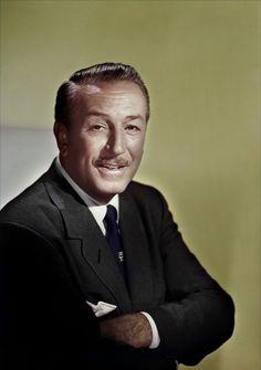 Walt Disney, such  sophisticated looking man.