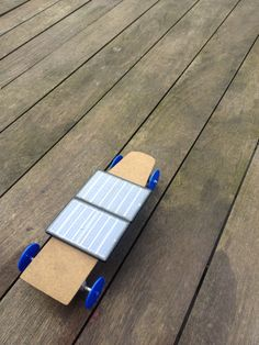 Modified Solar Power Kit vehicle made for IB Minor Project on Energy.