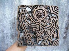 Textile/Batik stamp