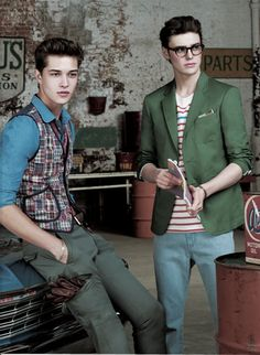 Francisco Lachowski and Jacob Young
