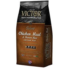 Victor Dog Food Chicken & Rice, 5 lb ~ You can click image to review more details. (This is an affiliate link and I receive a commission for the sales)