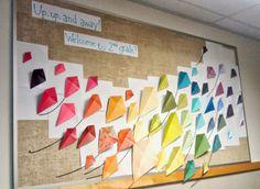 Bulletin board ideas, back to school bulletin board