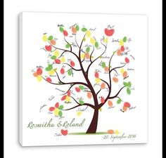 The fingerabdruck tree is a canvas and will be the wedding as hoc - Mein Stil Tree Wedding, Wedding Guest Book, On Your Wedding Day, Wedding Games, Wedding Venues, Wedding Planning, Diy Play Doh, Thumbprint Guest Books, Fingerprint Tree