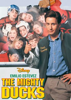 The Mighty Ducks_Movie Poster