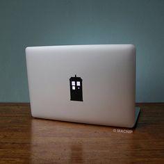 Doctor Who Tardis Geronimo Macbook Decal Laptop Sticker Macbook Pro Air Vinyl Decal Macbook Sticker Macnip