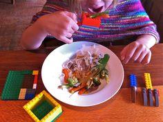 Comment amener les élèves à transformer l'usage initial d'une application ou d'un logiciel dans le but de réaliser une autre tâche?      «Here I am eating with my Lego spoon, knife, fork and bowl. My Lego serviette isn't very useful though.»