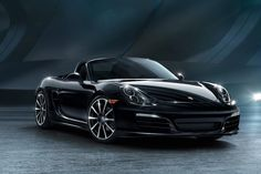 The Porsche 911 and Boxster Black Editions coat the interior and exterior, leaving no inch untouched.
