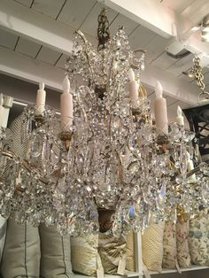 Custom made crystal chandelier customize crystals and dimensions boxwood interiors is a luxury interior design store in houston that features design services bespoke furniture lighting and rewiring farrow and ball aloadofball Gallery