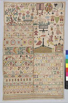 Sampler                                                                                 Date:                                      1788                                                       Culture:                                      German