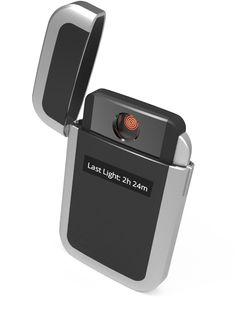 A lighter designed to help smokers quit Quitbit - the first lighter and app to track smoking