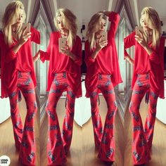 calzas Long Legs estampadas (oxford) - Valentinas