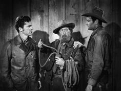 THE OX-BOW INCIDENT (1944) - A roving cowboy (Henry Fonda) questions a vigilante's desire to hang a suspected rustler (Dana Andrews) - Directed by William A. Wellman - 20th Century-Fox - Publicity Still.