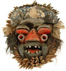 A Bush Spirit Mask, Kran, Liberia