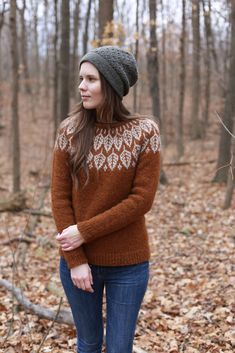 56 Ideas knitting fair isle sweater color combinations for 2019 Fall Sweaters, Sweaters For Women, Fair Isle Pattern, Fair Isles, Fair Isle Knitting, Sweater Weather, Pulls, Knitwear, Knitting Patterns