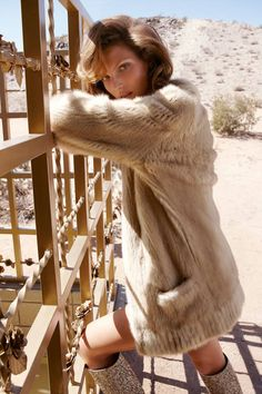 The fur cardigan!