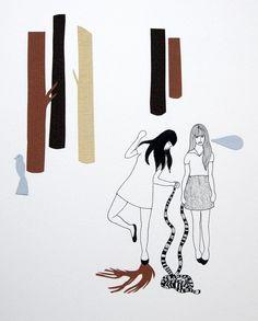 Put on your dancing shoes, original art