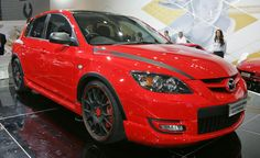 2007 Mazda 3 this is what i want my baby to look like eventually! Mazda 3 Hatch, Mazda Mps, Cars, Vehicles, Wheels, Future, Logo, Ideas, Future Tense