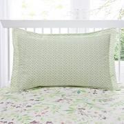 Wisley Floral Oxford Pillowcase Garden Beds, Linen Bedding, Botanical Gardens, Duvet Covers, Bed Pillows, Pillow Cases, Oxford, Bird, Floral