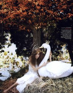 Vogue Korea 15 Years Editorial Fairy Tale Photographed by Lee Gun Ho, Issue 1 Shot #2