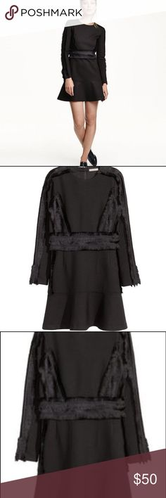 H&M Black Fringe Dress This beautiful dress is NWTs! H&M Dresses