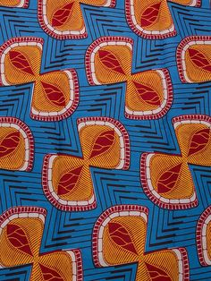 Textile African Prints Super Deluxe Wax Orange Bowknot For Party Dress Graphic Patterns, Textile Patterns, Textile Prints, Print Patterns, African Textiles, African Fabric, African Prints, African Patterns, Afro