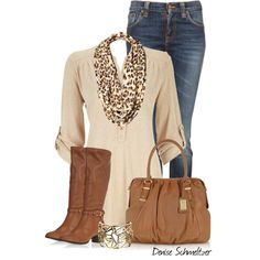 Casual Chic by denise-schmeltzer, via Polyvore