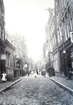 Palmstraat  in Amsterdam Nederland ca 1920