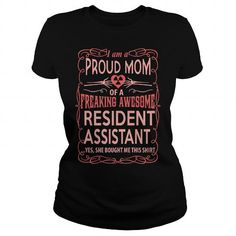 RESIDENT ASSISTANT T-Shirts, Hoodies, Sweatshirts, Tee Shirts (23$ ==► Shopping Now!)