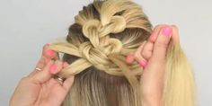 How to Do a Knot Braid - Sarah Potempa Loop Braid Tutorial