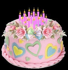 Imagens animadas de mensagem de feliz aniversário - A Delícia do Conhecimento
