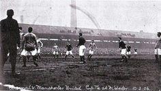 Arsenal F.C. Vs Manchester United F.C. por la FA-CUP el 10 de Marzo de 1906