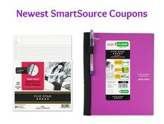 Newest SmartSource Coupons: School Supplies