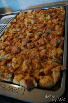 Non-Soggy Overnight French Toast Casserole