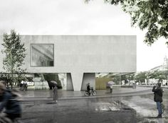 Gallery - Bauhaus Museum Finalist Acts as a Gate Between City and Park - 9