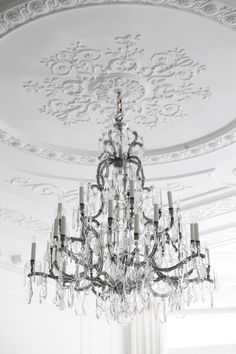 Magnificent cut glass and parcel gilt chandelier by f c osler an antique silver gilt birdcage chandelier in project pearl interior design by 1508 london discover how an appreciation of classical design informs many aloadofball Images
