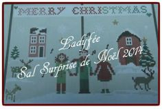 "SAL ""Surprise de Noël"" de Sara Guermani chez http://ladyfeeatelier.canalblog.com/"