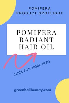 Pomifera Radiant Hair Oil