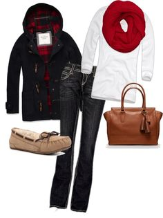 """warm & cozy"" by rickiecase on Polyvore"