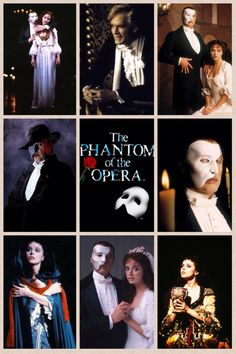 A lovely montage of the original London cast. The best cast in my personal opinion. ~ ALW's The Phantom of the Opera (1986-1991), starring Michael Crawford, Sarah Brightman, and the late Steve Barton (b. 1954 - d. 2001)