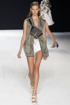 Rag & Bone Spring 2015. See all the best #NYFW runway looks here: