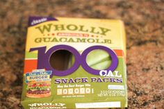 Wholly guacamole 100 calorie snack packs