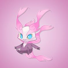 Um... This ones currently unnamed. It's a Fairy type, tho. Come up with names for it in the comments!