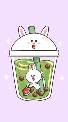 Cute Food Wallpaper, Tea Wallpaper, Cute Patterns Wallpaper, Kawaii Wallpaper, Cute Wallpaper Backgrounds, Wallpaper Iphone Cute, Cute Food Drawings, Cute Kawaii Drawings, Kawaii Art