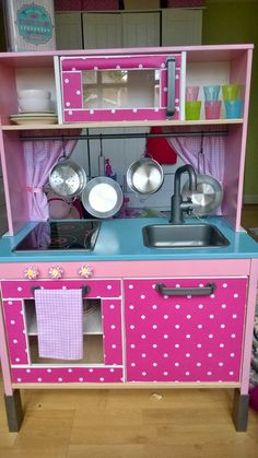 I was struggling and wracking my brains for inspiration for my soon to be 2 year old's Christmas present when I stumbled across the marvel t. Ikea Play Kitchen, Wooden Play Kitchen, Mini Kitchen, Toy Kitchen, Play Kitchens, Bunk Beds Built In, Diy Kids Furniture, Toy Rooms, Playroom Decor