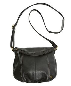 The Sak Deena Leather Flap Crossbody