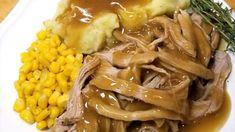 Shrimp and Grits - Sparkles of Yum Pork Tenderloin Recipes, Pork Recipes, Crockpot Recipes, Cooking Recipes, Pork Loin, Sausage Recipes, Roast Brisket, Pork Tenderloins