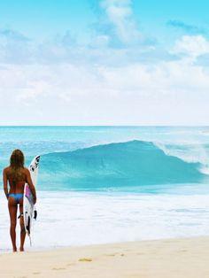 I love watching surfers. ☀️