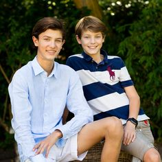 New photos released by the Danish Royal Court on the occasion of HH Prince Nikolai's 16th birthday.28/08/2015