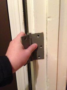 How To Add A Mortise For A Third Hinge Wilker Do S Door Upgrade Door Hinges Kids Closet Organization